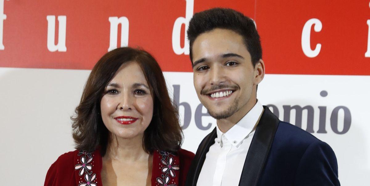 ISabel Gemio y su hijo Diego