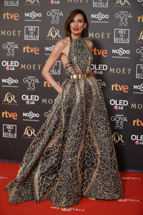 Red carpet, Carpet, Clothing, Dress, Premiere, Fashion, Fashion model, Flooring, Hairstyle, Gown,