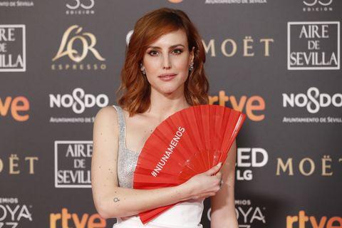 Abanicos rojos Goya 2019