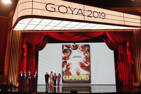 Goya Mejor Pelicula Campeones