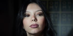Alejandra Rubio maquillaje gótico
