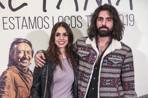 Elena Furiase y Guillermo Furiase en el concierto de Ketama