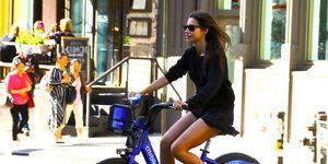 Rocío Crusset bicicleta