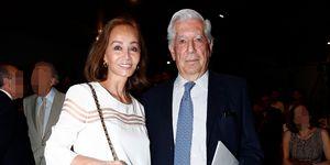 Isabel Presley y Mario Vargas Llosa