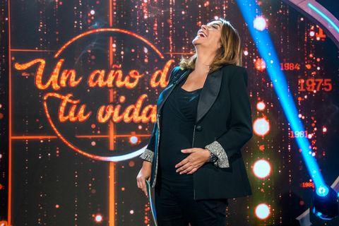 Toñi Moreno estrena feliz su nuevo proyecto en su quinto mes de embarazo