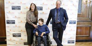 Fabiola Martínez y Bertín Osborne con su hijo  Gtres