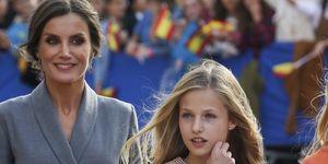 Letizia y Leonor en los Premios Princesa de Asturias