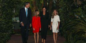 Los reyes y sus hijas acuden a los premios princesa de Girona