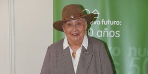 Doña Pilar reaparece para inaugurar Nuevo Futuro