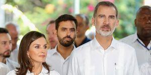 Los reyes pasean por La Habana Vieja