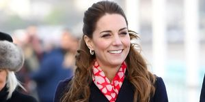 Kate Middleton se apunta al color favorito de Letizia