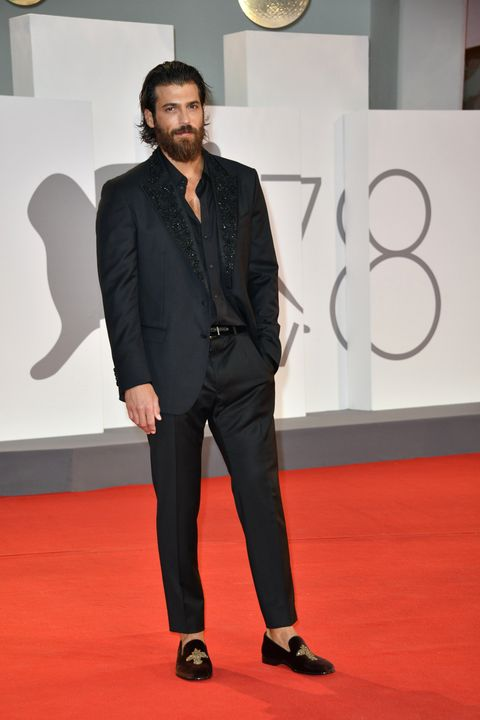 78th venice film festival 2021, red carpet filming italy  pictured can yaman