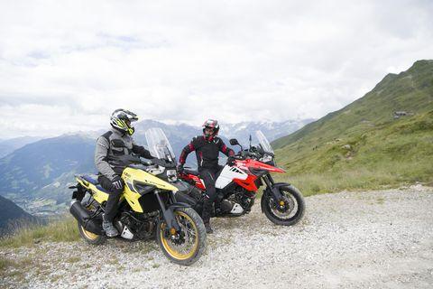 2020 suzuki v strom 1050xt celebrates 18 years of adventure touring