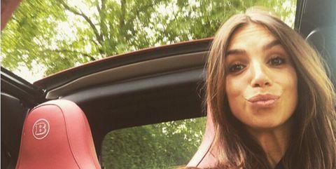 Hair, Beauty, Lip, Selfie, Summer, Photography, Long hair, Brown hair, Tree, Driving,