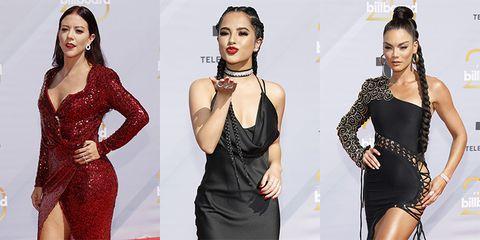 d0f0b93ab3 Las mejor y peor vestidas de los premios Billboard 2018