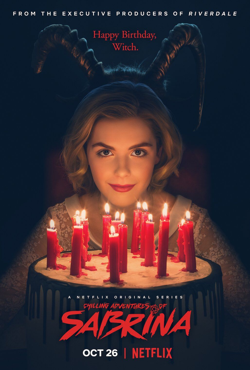 Image result for chilling adventures of sabrina netflix poster