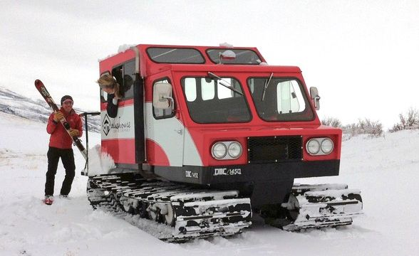 Soft Tub For Sale >> The Ice-Kicking Glory of the Snowcat