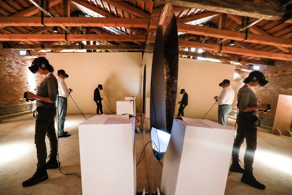 L'arte aumentata in realtà virtuale