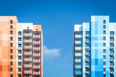 Un complejo residencial muy colorido en Moscú de Massimo Iosa Ghini