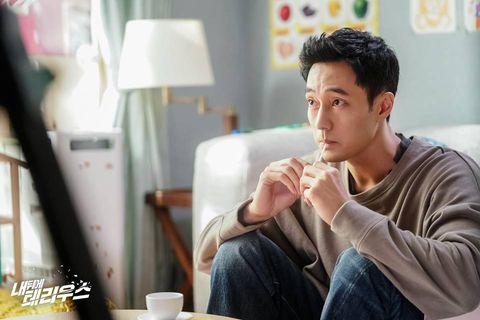 MBC《我身後的陶斯》蘇志燮與鄭仁仙雙胞胎對峙