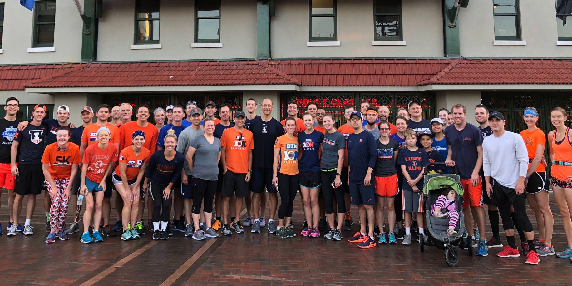 Josh Whitman Illinois Run Club