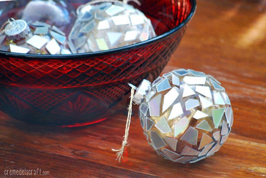 42 Homemade DIY Christmas Ornament Craft Ideas - How To Make Holiday Ornaments