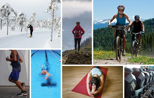 7 Cross Training Sports for Better Cycling Sykling  Bicycling