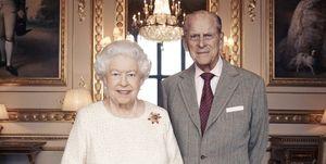 Queen Elizabeth 70th Anniversary Portrait