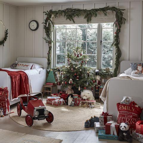 hychildren's christmas bedroom decorperfocal 0