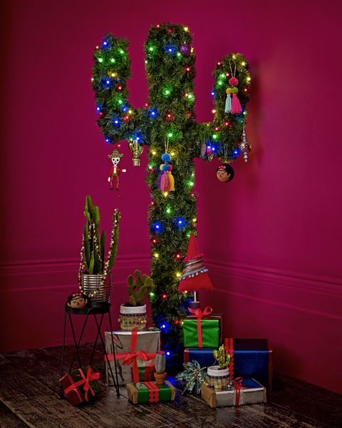 Dobbies Festive Fiesta Tree, cactus Christmas tree