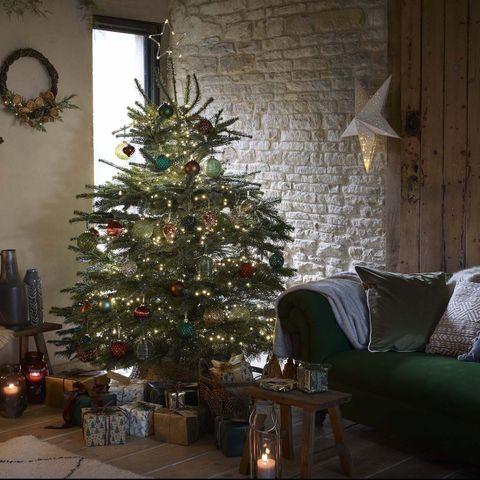 fraser fir christmas tree, dobbies