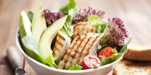 Healthy foods bowl