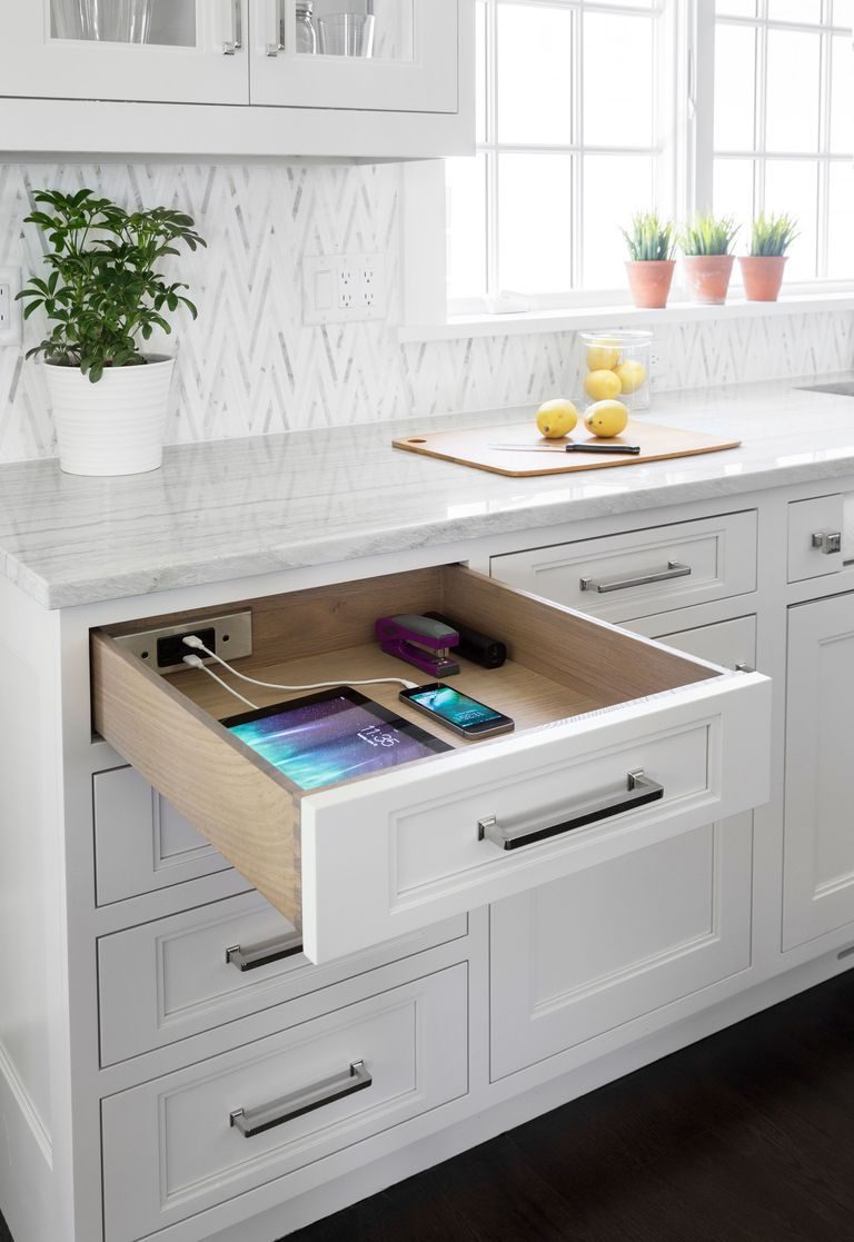 A Docking Drawer Will Keep Your Counters Cord-Free in 2020