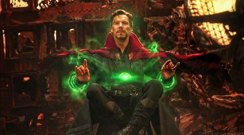 doctor extraño vengadores infinity war