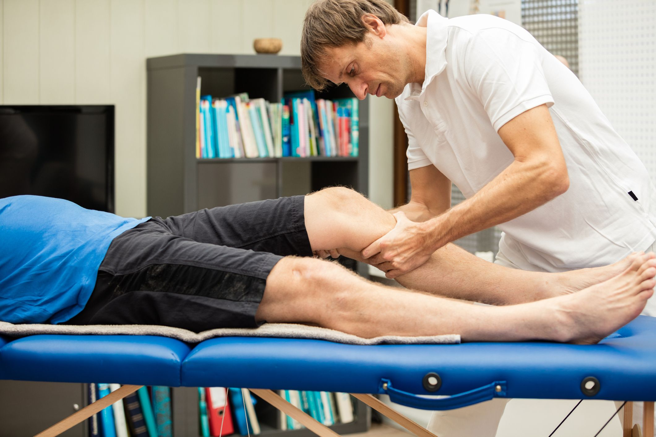 Massage deep muscle recovery treatments