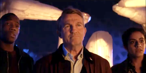 Doctor Who series 12: Bradley Walsh, Tosin Cole, Mandip Gill
