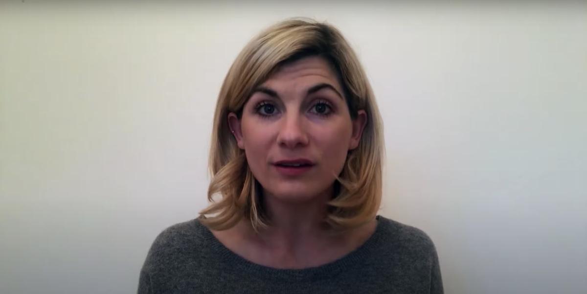 Jodie Whittaker explains background of Doctor Who lockdown speech