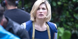 Jodie Whittaker filming Doctor Who in Cardiff