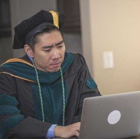 doctorate degree graduation