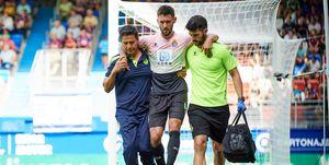 El fútbol y las lesiones