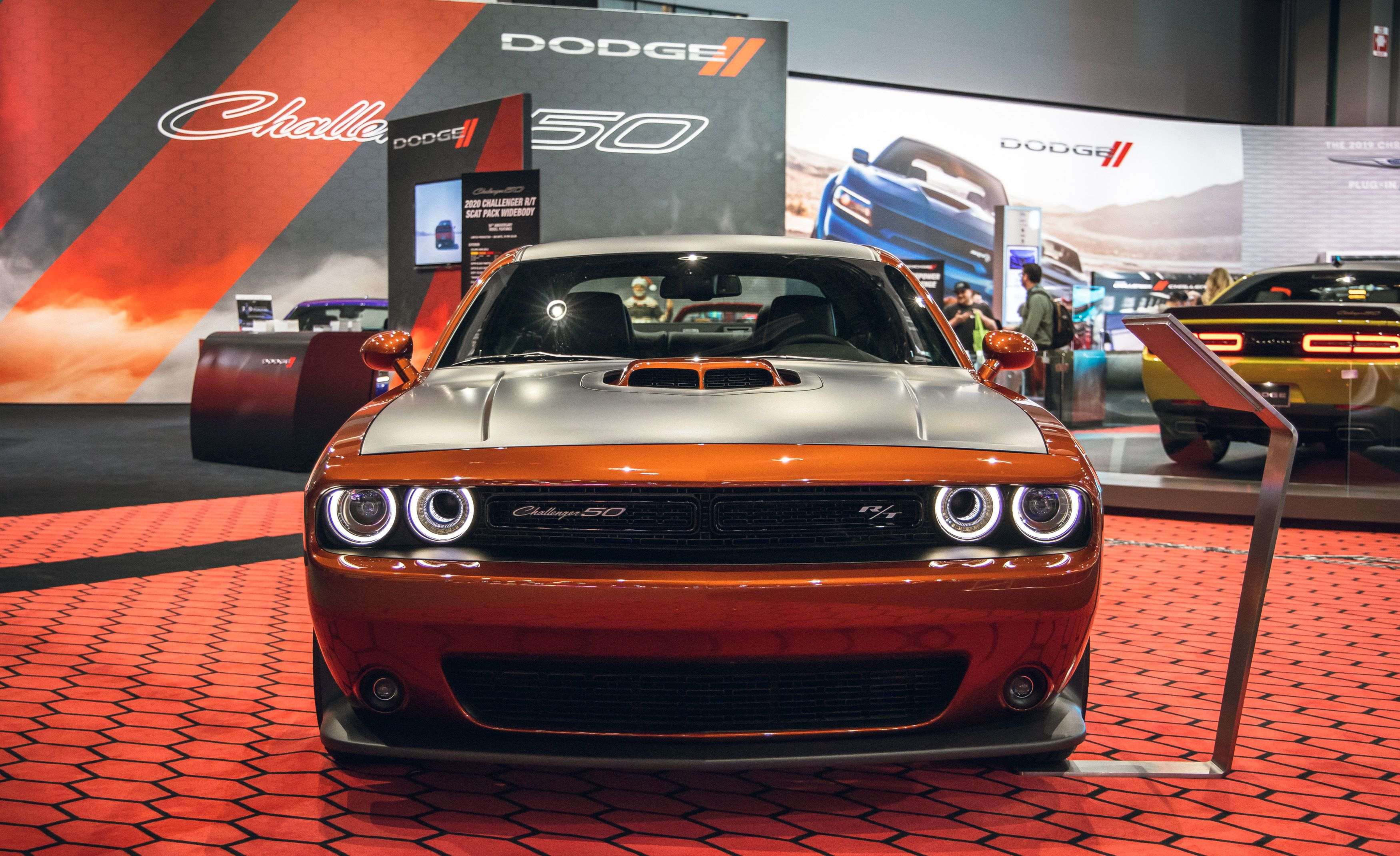 2020 Dodge Challenger Gets 50th Anniversary Appearance Package