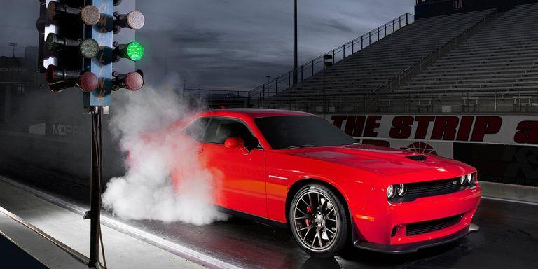 Hellcat Burnout Dodge Challenger Hellcat Burnouts