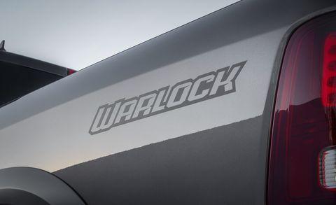 2019 Ram 1500 Warlock Pickup — Special-Edition Nostalgia ...