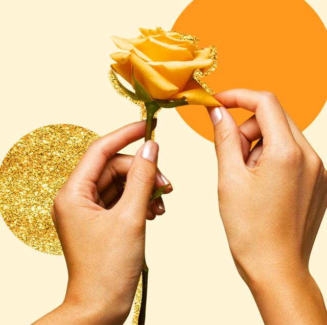 Yellow, Hand, Finger, Plant, Happy, Gesture, Smile,