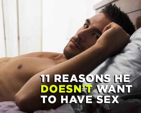 11 Reasons Men Might Turn Down Sex