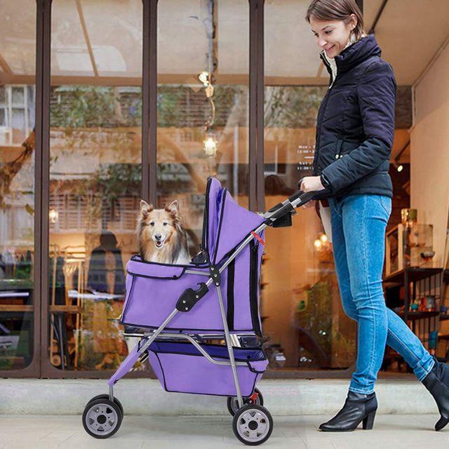 dog strollers -- BestPet pup carrier