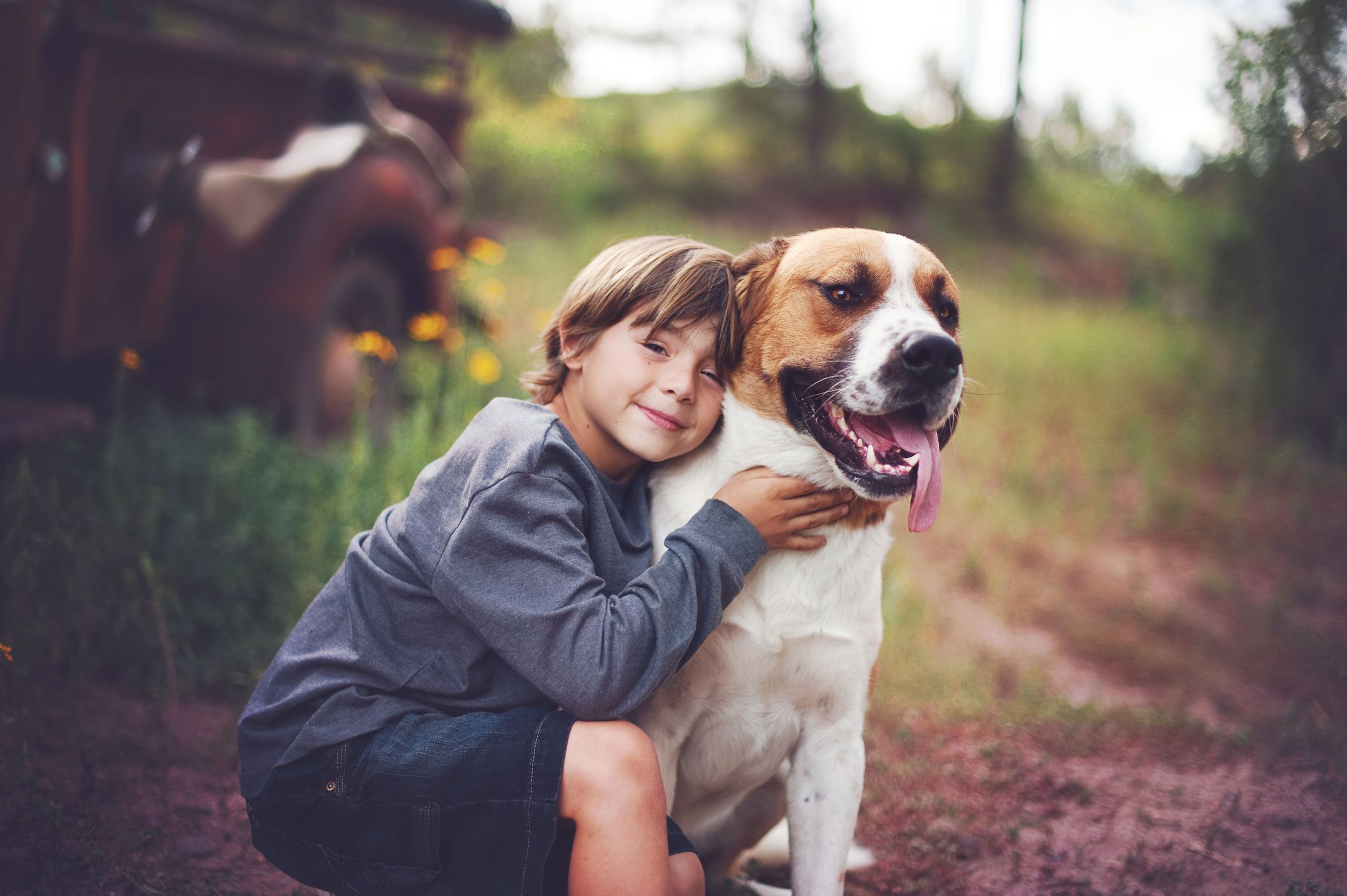 New Study Shows Having A Dog As A Child Makes You Less Likely To Suffer  From Anxiety