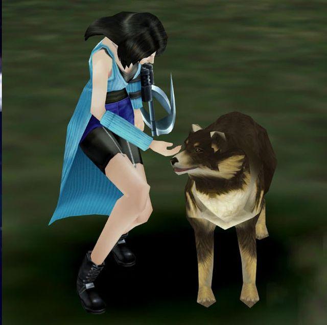 Final Fantasy,犬,可愛い,ファイナルファンタジー,名犬,アンジェロ,ゲーム,歴史