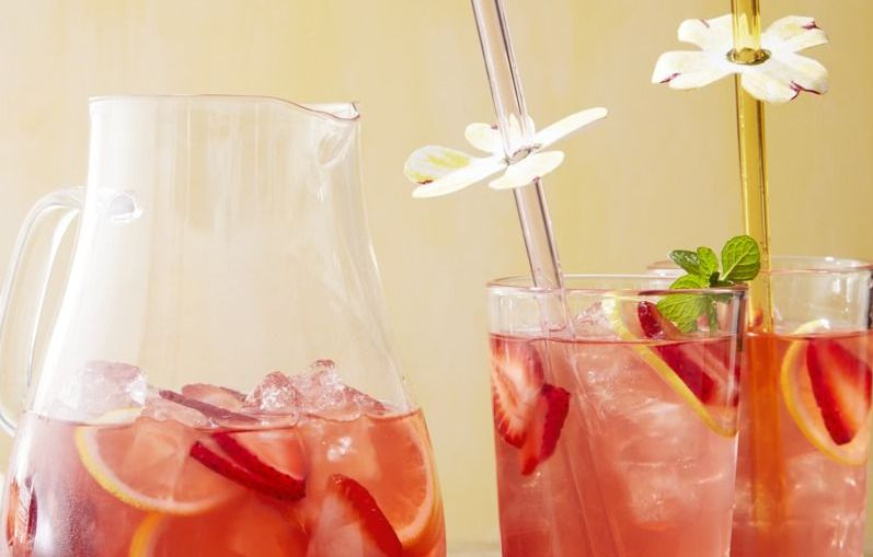 Serve This Dogwood Punch at Your Next Gathering