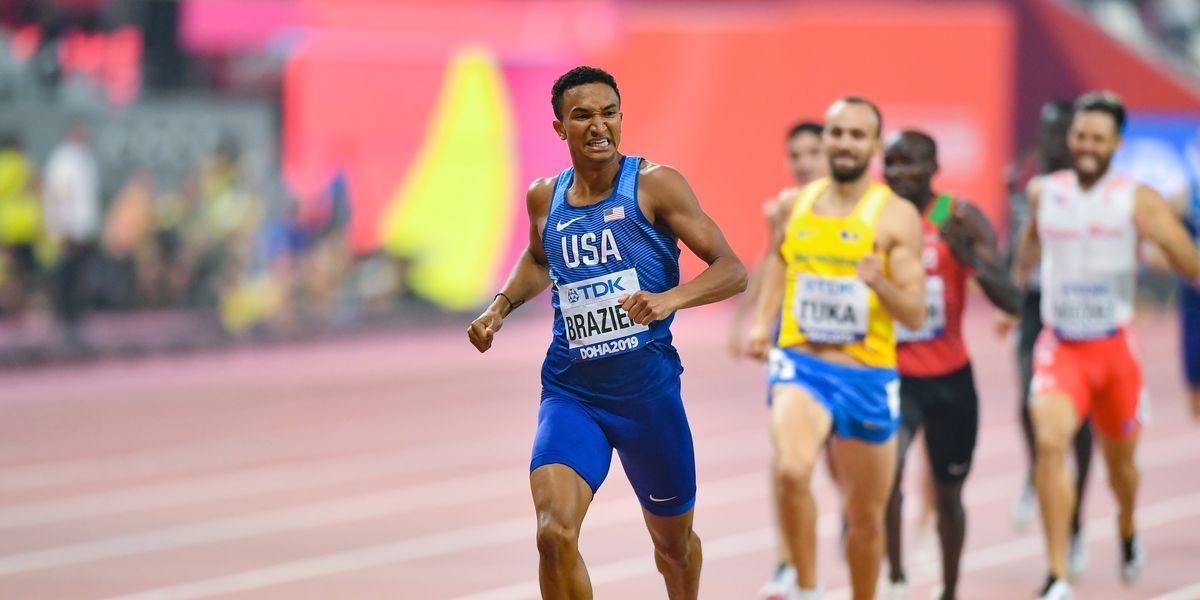 How Brazier Broke the 800-Meter American Record